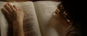 Frodo scrive le memorie