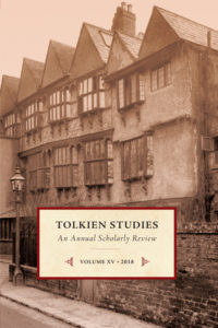 Tolkien Studies 15 - 2018