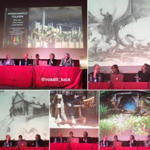 Immaginifico Tolkien - Alan Lee, John Howe, Luca Manini, Roberto Arduini - foto di Luca Rosati