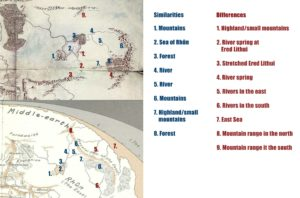 Mappe differenze-similitudini