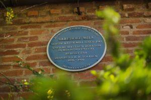 Sarehole Mill - Placca Tolkien Society