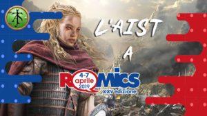 L'AIST a Romics 2019 - primavera