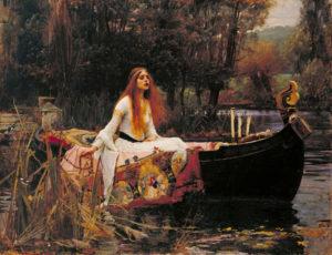 The Lady of Shalott - William Waterhouse