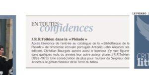 Tolkien Pleiade - Le Figaro