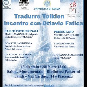 Locandina Piacenza Ottavio Fatica