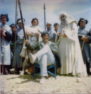 Bakshi: Lord of the Rings 1978 on set