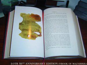 Book of Mazarbul