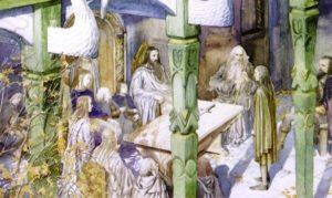 Alan Lee: Concilio di Elrond
