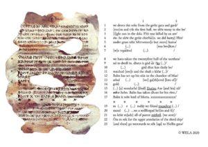 Libro di Mazarbul - Folio 01