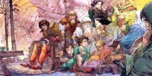 Michael Kaluta – Elrond Remembers Gil-galad
