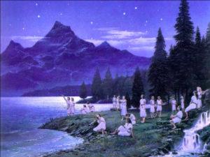 "Ted Nasmith: ""Nascita degli Elfi"""