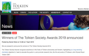 Tolkien Society 2019