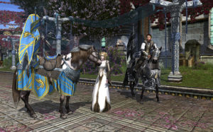 Cavalieri a cavallo su Lotro