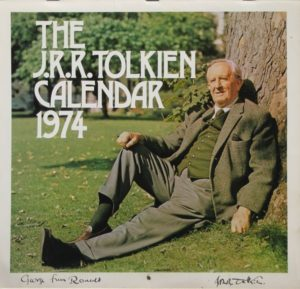 Calendar 1974 firmato