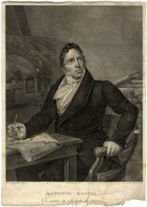 Basoli Antonio ritratto studio