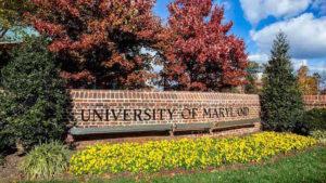 Cop Università Maryland