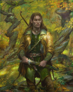 Donato Giancola: Legolas in Mirkwood