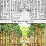 Illustrazione di Tolkien: Elvenking's Gate