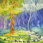 Garland: The two trees of Valinor
