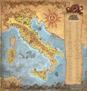 Mappa Campfire Andrea Piparo