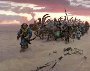 Mark Zug - Sands of Gorgoroth inspired by Kirill Yeskov's The Last Ringbearer