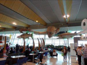 Gollum all'aeroporto di Wellington