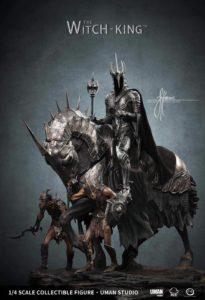 UMAN · John Howe Artist Series The Witch King Statue