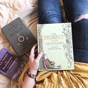 reading Tolkien books