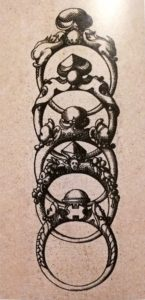 Anelli cabochon e a punta 2