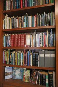 Scaffale libri collezione Tolkien
