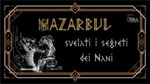 Crowdfunding libro di Mazarbul